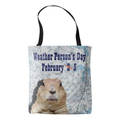National Weather Persons Day February 5 Tote Bag - accessories accessory gift idea stylish unique custom
