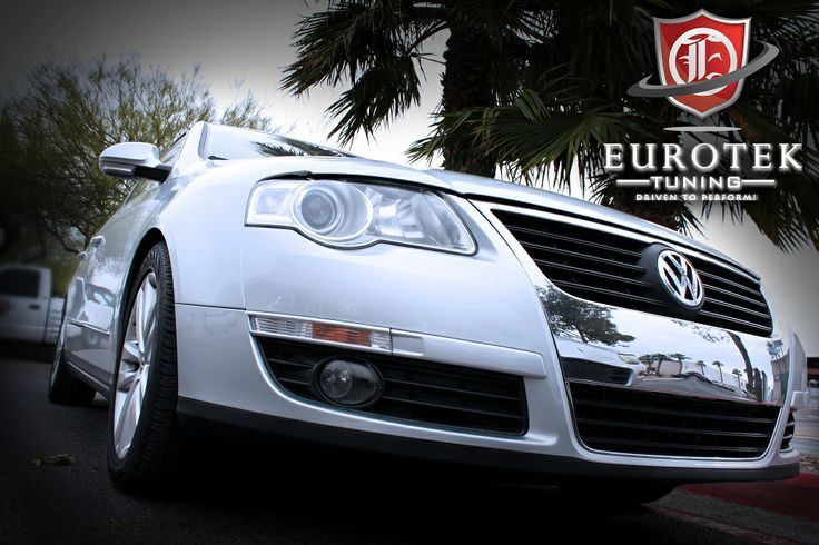 VW Passat w/ many upgrades including:   -Neuspeed P Flo Air Intake -APR B6 Passat Exhaust System -APR Stage 2+ Tune -P3 Cars Vent Integrated Digital Interface -Denso Iridium Spark Plug -Wagner Tuning Transverse 2.0T Intercooler -Neuspeed Spring Kit Sport  See details here: https://www.etektuning.com/blog/vw-passat-performance-parts-upgrades-neuspeed-intake-apr-exhaust-p3-cars-digital-interface/