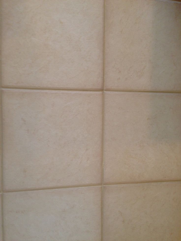 Colored Grout And New Tile Create Fresh Bathroom Look: After Cleaning We Color Sealed The Grout Antique White