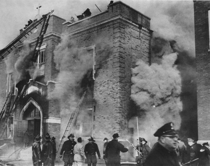 94 Best Images About Chicago Our Lady Of The Angels Fire