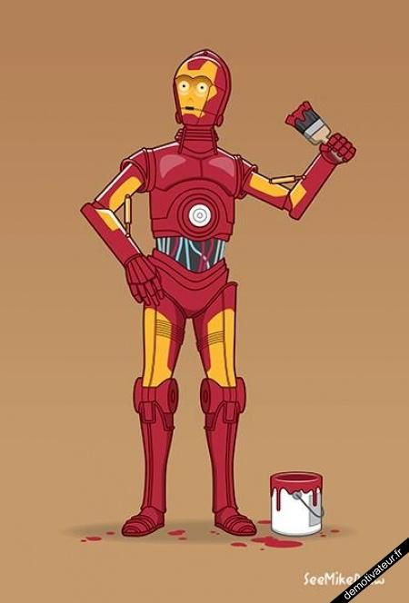image drole - Le rêve de C-3PO