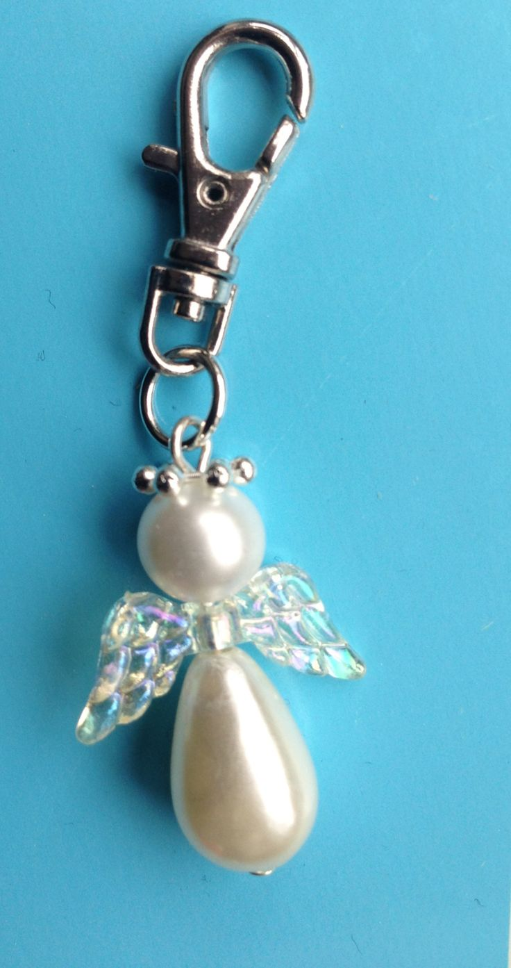 Guardian angel made by riverside beads for Macmillan cancer charity