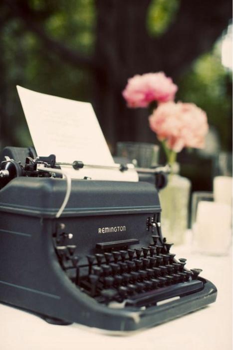 Typewrite Guest Book