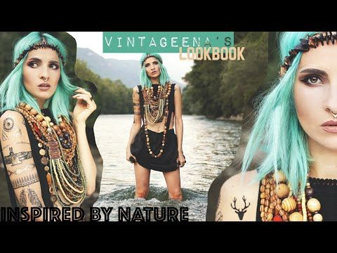 INSPIRED BY NATURE || LOOKBOOK by VINTAGEENA - YouTube