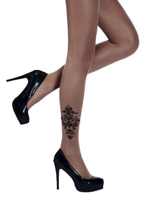 Penti Penna Külotlu Çorap 500 Siyah - (3'lü Paket)
