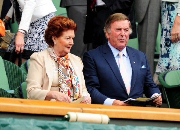 Terry Wogan with his wife Lady Helen.