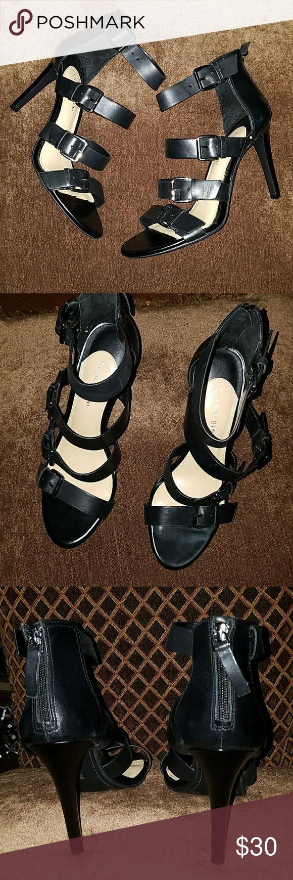 Gianni Bini heels Gianni Bini strappy heels 4 inch heel Gianni Bini Shoes Heels