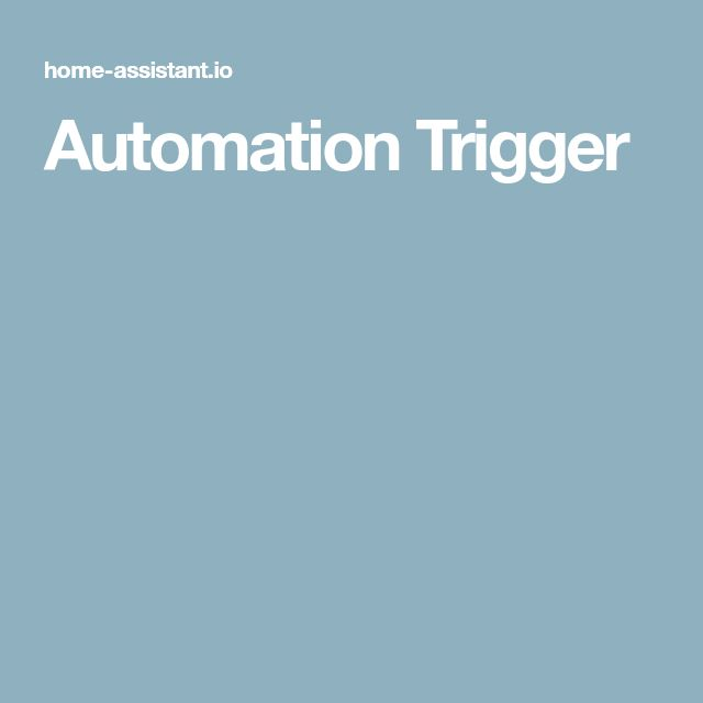 Automation Trigger