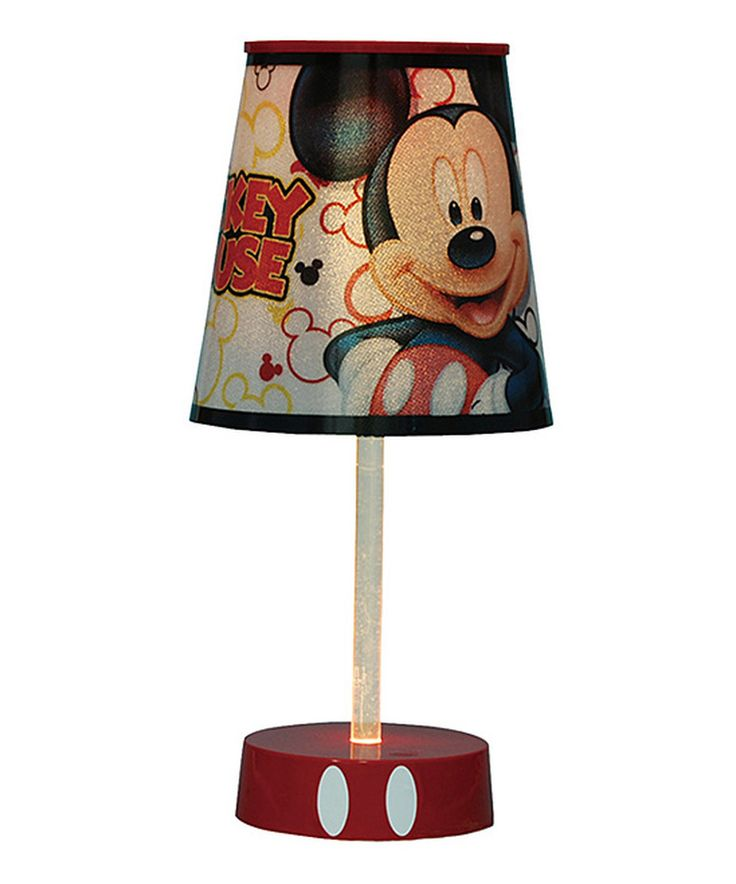 This Mickey Mouse Tube Lamp by Mickey Mouse & Minnie Mouse is perfect! #zulilyfinds