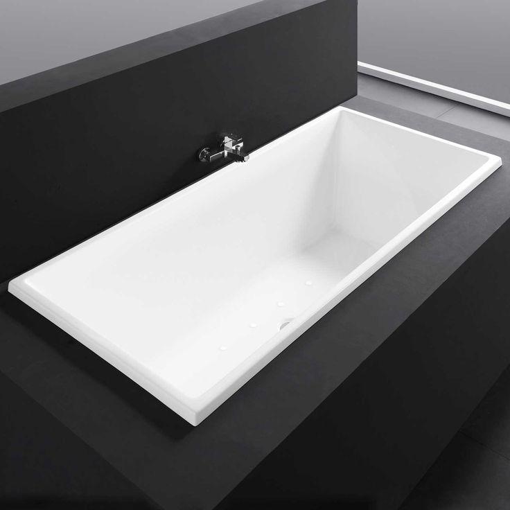 Escalot Acrylic Drop In Air Tub