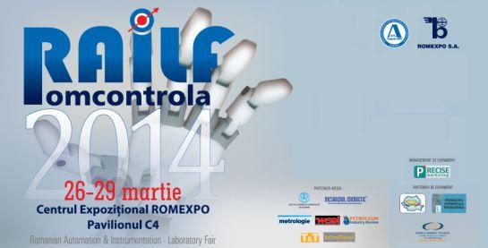RAILF-ROMCONTROLA – În rezonanţă cu industria românească, în 2014