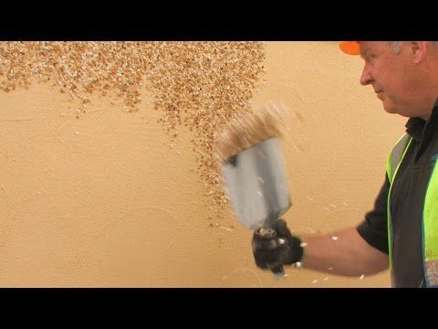 Solid Wall Insulation with a Dry Dash Aggregate Finish - YouTube