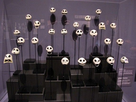 Tim Burton exhibition at LACMA. Click through to see a gallery of photo highlights from the exhibition!