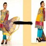 Ali Xeeshan Eid-Ul-Fitr Dresses 2014 by Shariq Textiles