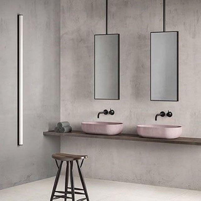Die besten 25+ Rosa minimalistische badezimmer Ideen auf Pinterest - harmonisches minimalistisches interieur design