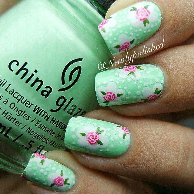 Mejores 1068 imágenes de nail art en Pinterest | Arte de uñas ...