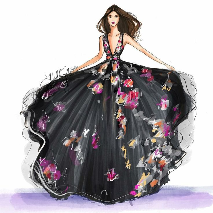 Inspired by the unique pattern of the ZUHAIR MURAD resort collection. Sketched…