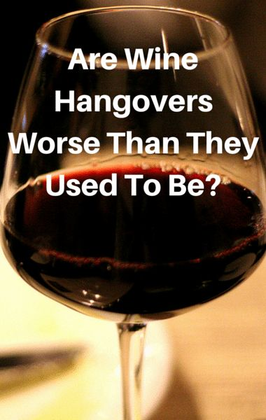 Do you feel as though you're experiencing more hangover symptoms from wine than you used to? Perhaps you drink just one glass but still feel it the next day. You're not alone, and Dr Oz wanted to find out what was causing the strange phenomenon.