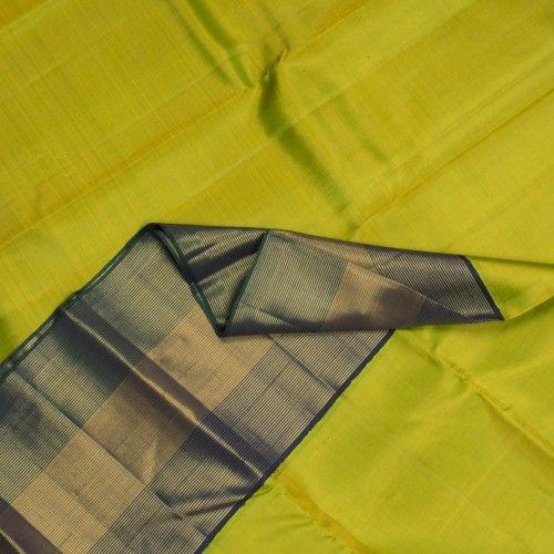 Kanakavalli Handwoven Kanjivaram Korvai Sari 000935