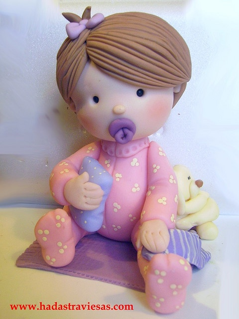 bebota by hadastraviesas, via Flickr porcelana fria polymer clay