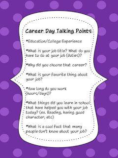Career Day!!!