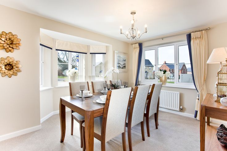The dining area in The Evesham at The Homelands in Bishops Cleeve | Bovis Homes