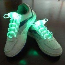 LED-kengännauhat, vihreä