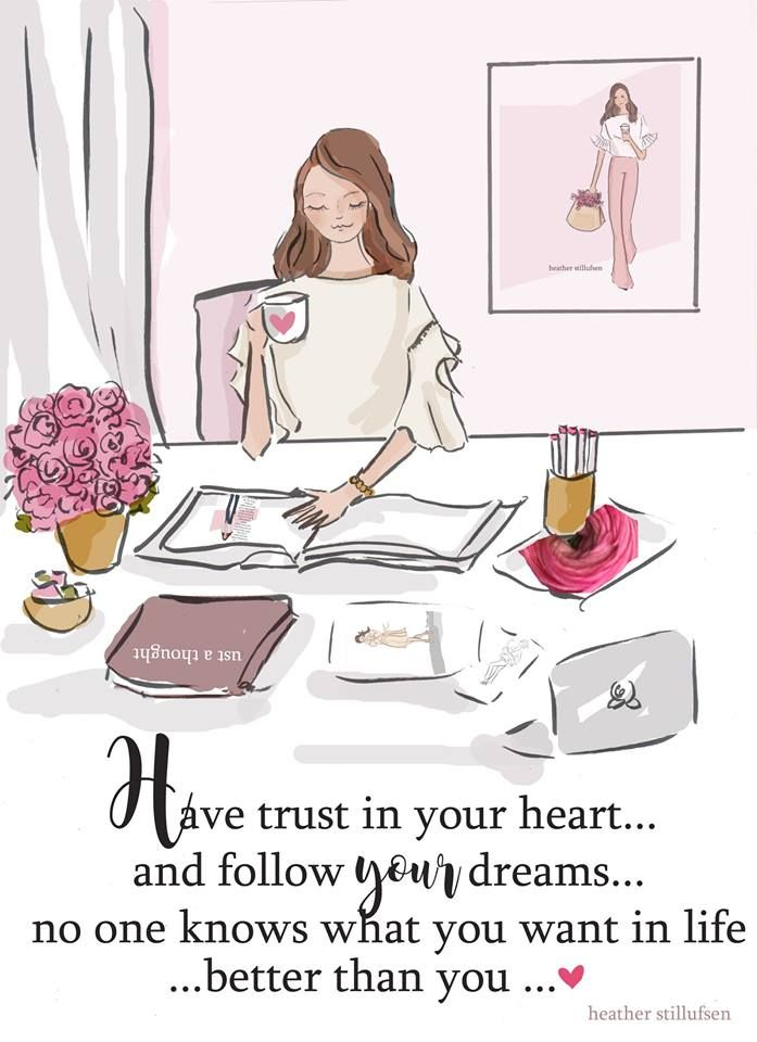 The Heather Stillufsen Collection by licensed artist, Heather Stillufsen from Rose Hill Design Studio on Facebook, Instagram and shop on Etsy.all illustrations and quotes copyright protected