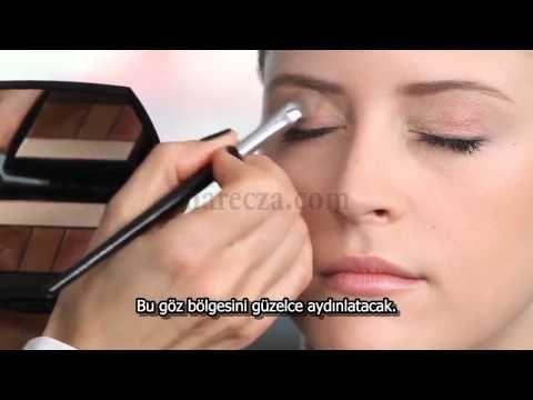 Yeşil ve Mavi Gözler İçin Nasıl Makyaj Yapılır? - YouTube