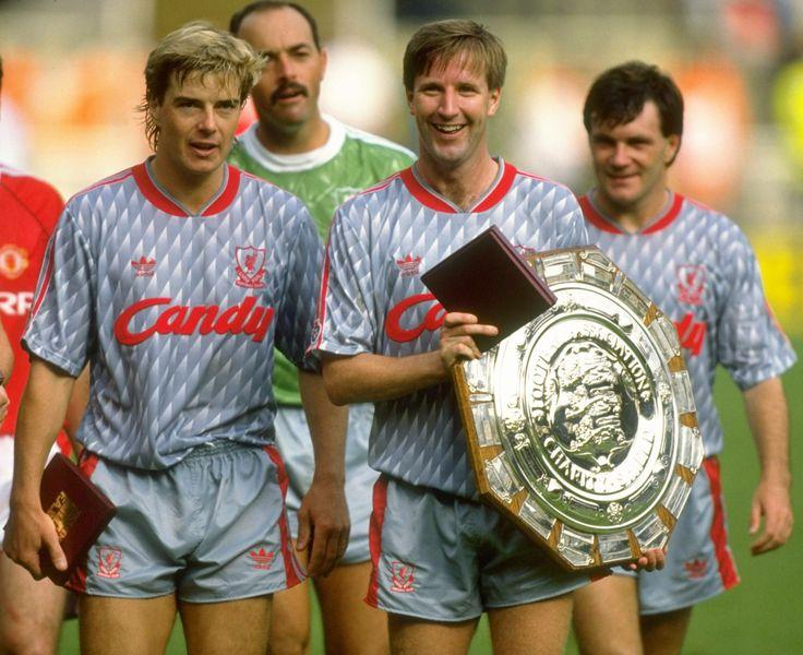Barry Venison, Ronnie Whelan, Charity Shield