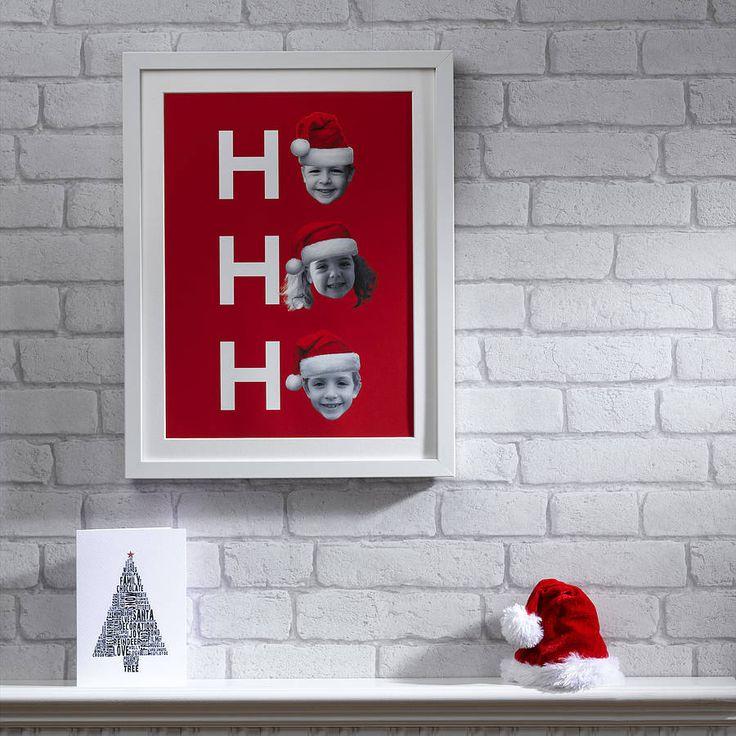 Father Christmas Hat Print