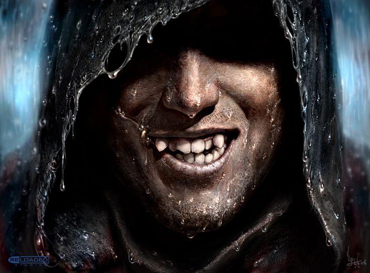 картинка улыбка в капюшоне слава богу, хоть