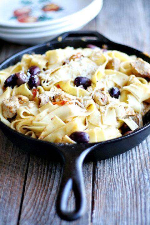 Mediterranean Pasta Skillet - Heather's French Press