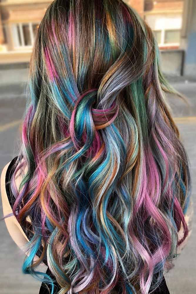 30 Ways And Ideas To Have Fun WIth Temporary Hair Color ...