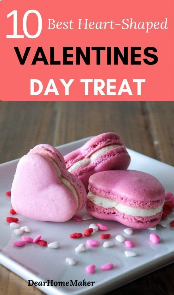 10 Best Heart Shaped Valentines Day Treat