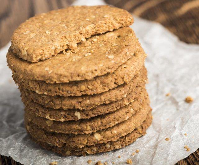 Biscotti vegani Digestive fatti in casa