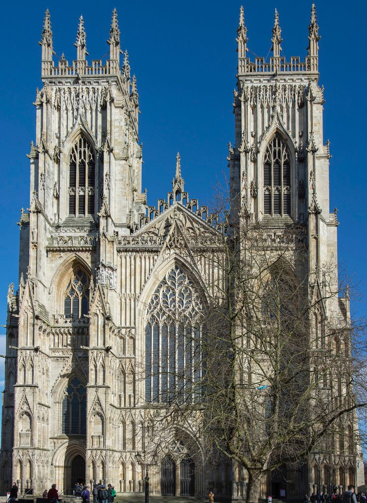York Minster, North Yorkshire - The West Front