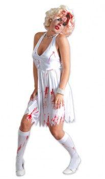 Disfraz de Marilyn Zombie para mujer