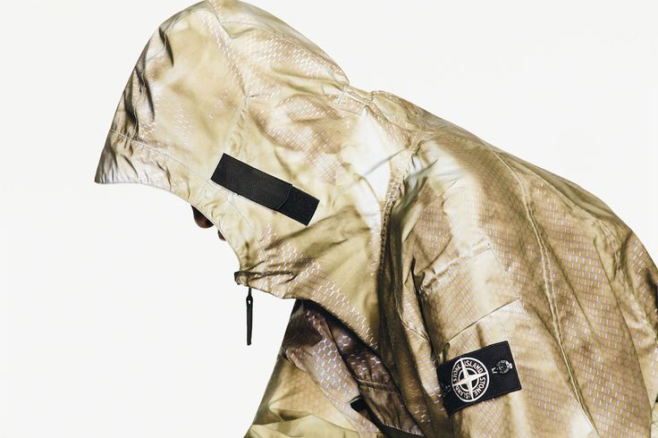stone island prototype research series 01 reflective jacket