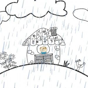 Our collaboration video with ELF Learning is slowly coming together! I love how Dog's house turned out.