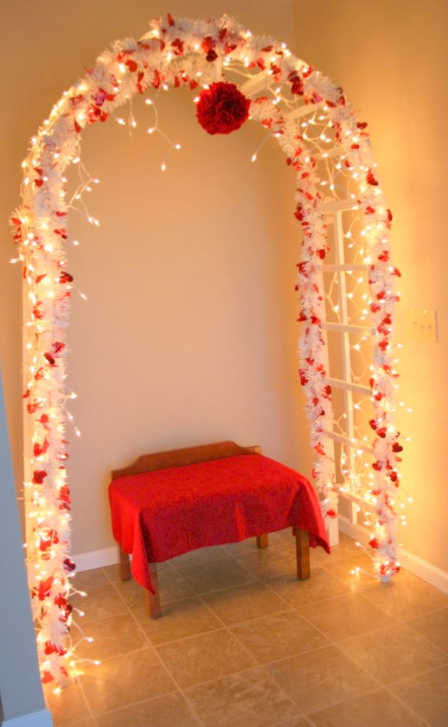 valentine's day lights outdoor