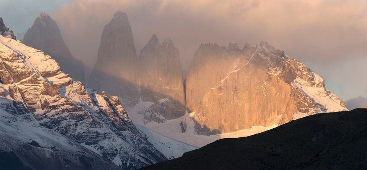 Torres del Paine - Torres del Paine at dawn.
