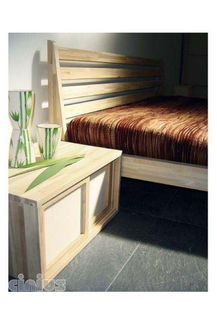 AURORA SENG. Solid lamellær bøk seng uten metalliske deler. Bøk har  meget godestyrke egenskaper,er slitesterk og har en homogen vedstruktur.