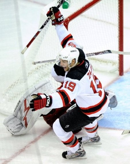 Travis Zajac New Jersey Devils