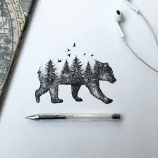 """Résultat de recherche d'images pour """"tatouage ours"""""""