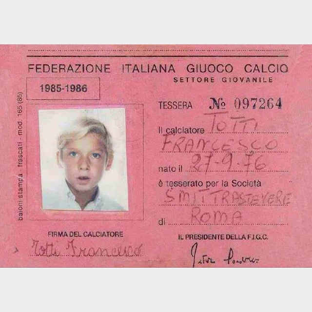 Little Totti!