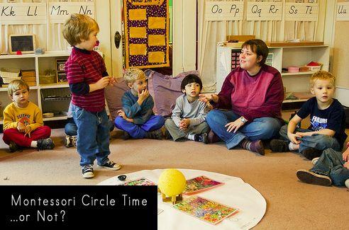 Montessori Circle Time Or Not Montessori Theory