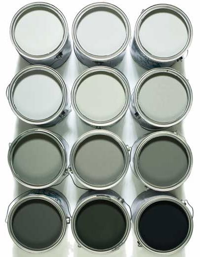 The perfect shade of grey paint - we went with Spray River by General Paints and are loving it!
