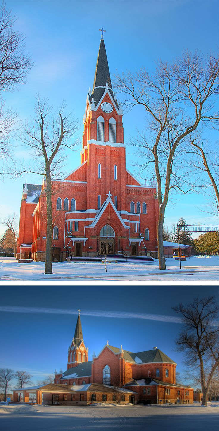 St. Mary of Mount Carmel Church in Fancher, Wisconsin