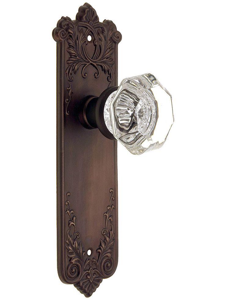 Antique Glass Door Knobs For Sale